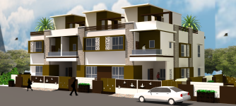 View of Goyal Brothers' residence -1
