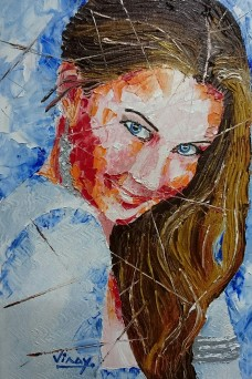 THE BLUE EYED GIRL
